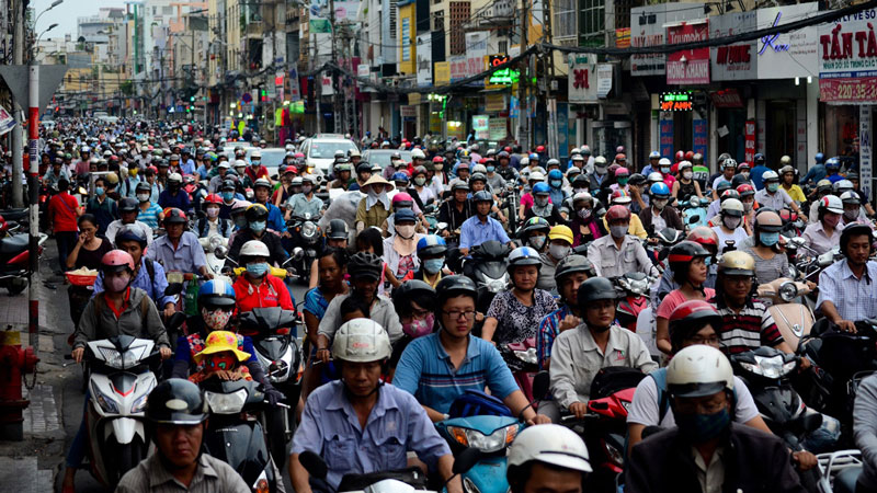 motorini a saigon